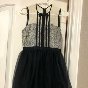 NWT BCBGeneration LACE AND TULLE dress